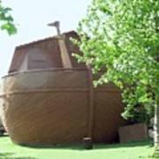 Noah's Ark At The Jerusalem Zoo Art Print