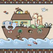 Noah's Ark Art Print by Cheryl Marie