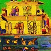 Noahs Ark From My Point Art Print