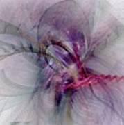 Nobility Of Spirit - Fractal Art Art Print