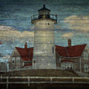 Nobska Lighthouse 2 Art Print