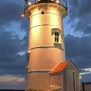 Nobska Point Lighthouse Art Print
