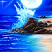 Noche De Luna  Art Print