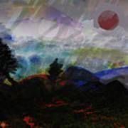 Noche Equatorial  Art Print