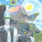 Nocturnal Biohydroloft Art Print
