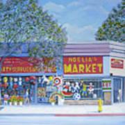 Noelia's Market Art Print