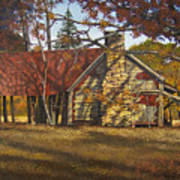 Nolan Corners Farmhouse Art Print