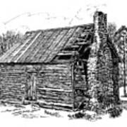 Nolan Corners Sharecropper's Shack Art Print