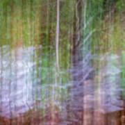Noland Creek Abstract 1 Art Print