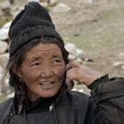 Nomads Of Ladakh Art Print