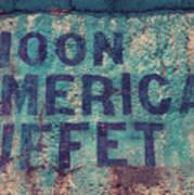 Noon American Buffet Art Print
