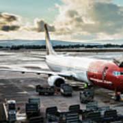 Norwegian Jet Art Print