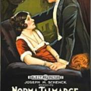 Norma Talmadge In The Probation Wife 1919 Art Print