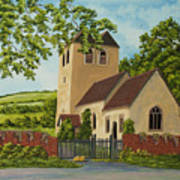 Norman Church In Fingest Art Print