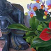 Norma's Buddha Art Print