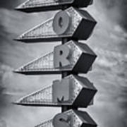Norms In Los Angeles Art Print