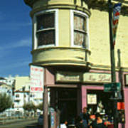 North Beach San Francisco Art Print