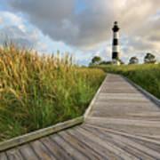North Carolina Bodie Island Lighthouse Summer Art Print