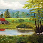 North Carolina Farm Art Print