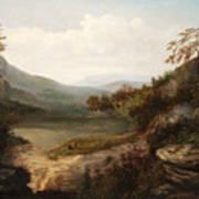 North Carolina Mountain Landscape Art Print