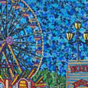 North Carolina State Fair 6 Art Print