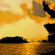 North Channel Sunset Art Print
