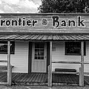 North Dakota Frontier Bank Art Print