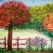 North Fence Art Print