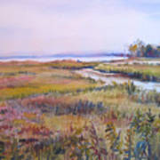 North Fork Marsh Art Print