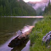 North Fork Of The Clearwater Print by Idaho Scenic Images Linda Lantzy