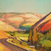 North Fork Touchet Art Print