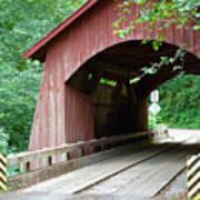 North Fork Yachats Bridge 2 Art Print