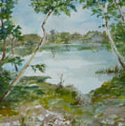 North Lake Art Print