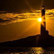 North Light Sunflare Art Print