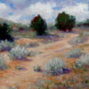 North Of Santa Fe  Art Print