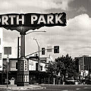 North Park San Diego Art Print