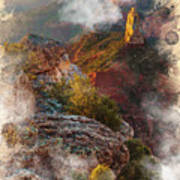 North Rim Of The Grand Canyon Art Print