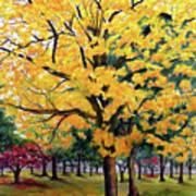 North Savannah Poui Art Print
