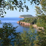 North Shore Lake Superior Art Print