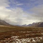 North Slope Dalton Highway Arctic Alaska Art Print