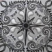 North Star Art Print by Carolyn Powers