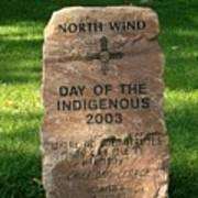 North Wind Art Print