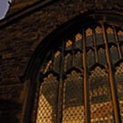 Northampton Church At Dusk Art Print