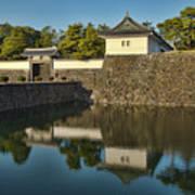 Northern Gate Of Edo Castle Art Print