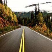 Northern Highway Yukon Art Print