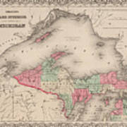 Northern Michigan And Lake Superior Art Print