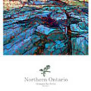 Northern Ontario Poster Series Art Print