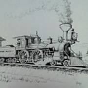 Northern Pacific Centennial Gold Creek Montana Art Print