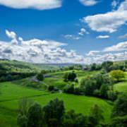 Northumberland Landscape Art Print