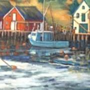 Northwest Cove, Nova Scotia Art Print